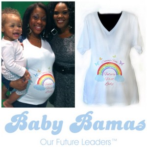 Future First Lady Maternity camisa