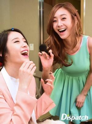G.NA and Jiyeon