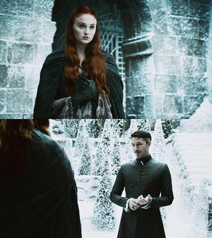 Petyr Baelish & Sansa Stark