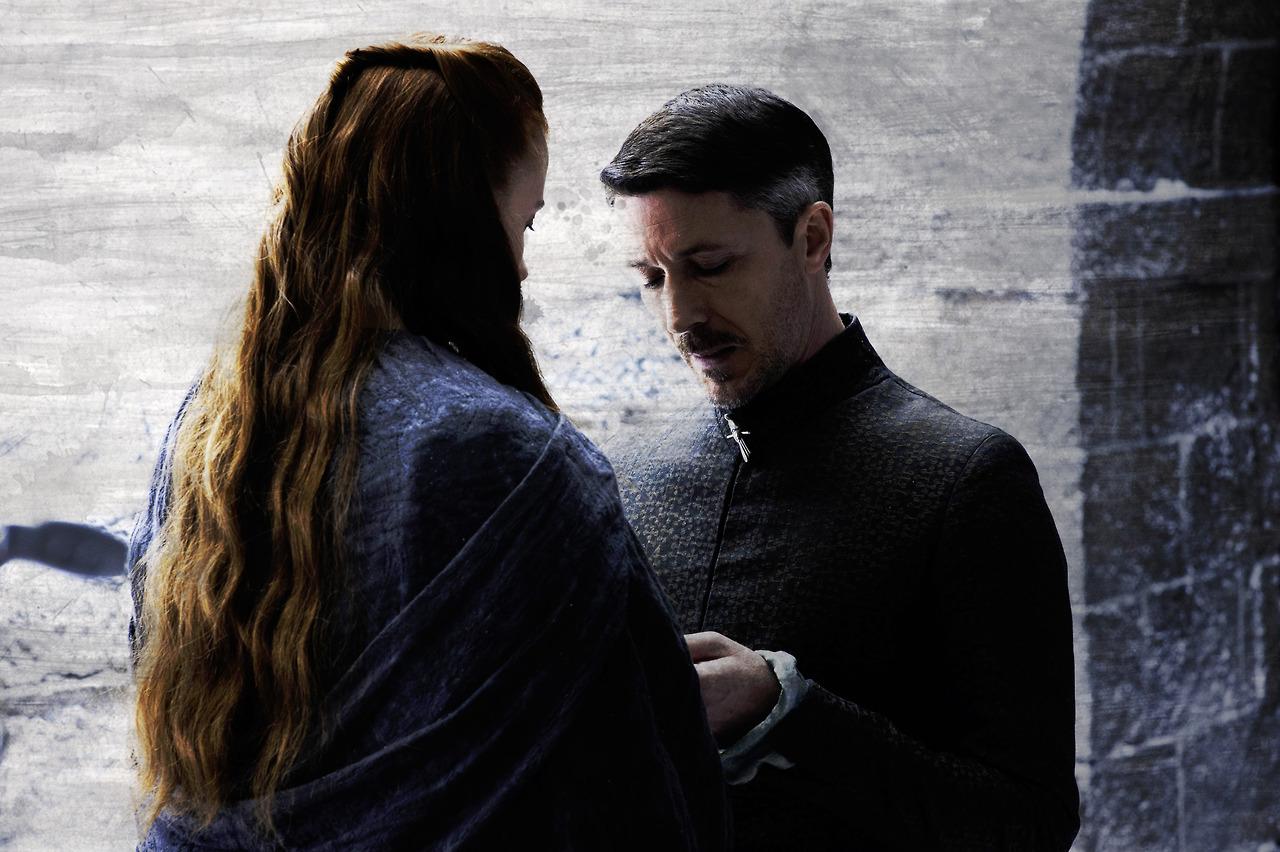 Petyr Baelish Sansa