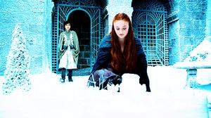 Robin Arryn & Sansa Stark