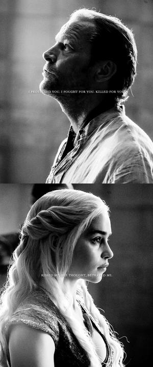 Daenerys Targaryen & Jorah Mormont