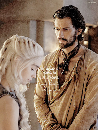 Game of Thrones images Daenerys Targaryen & Daario Naharis ... Daario Naharis And Daenerys Season 4