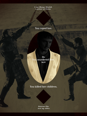 Oberyn Martell & Gregor Clegane