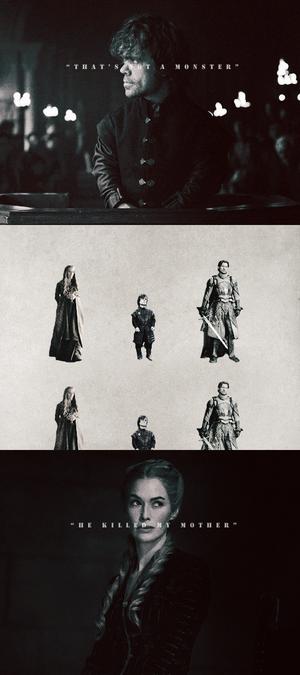 Jaime, Tyrion & Cersei