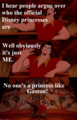 Gaston has a feminine side