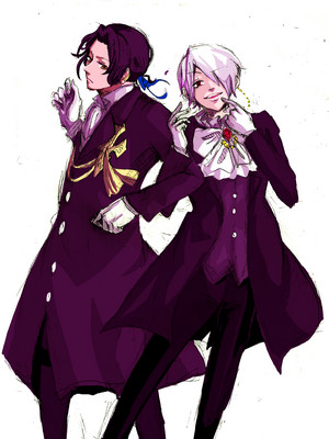 Gilbert Nightray and Xerxes Break