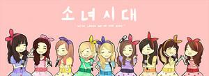 Girls Generation arte de los Fans