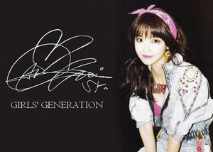 Girls Generation Signature