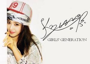 Girls Generation Signature