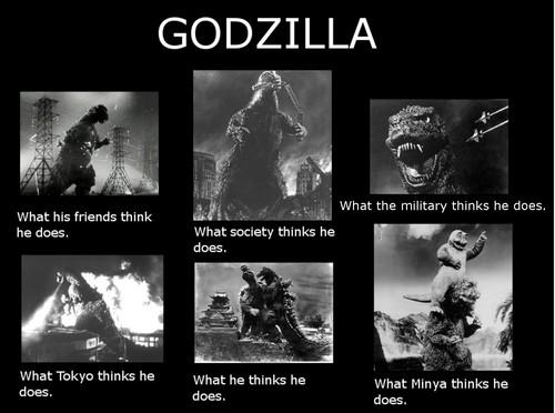 Godzilla wallpaper entitled Godzilla Meme