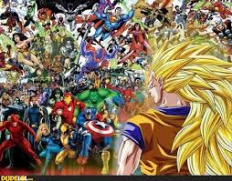 Goku vs Everyone