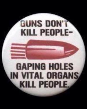 Gun nut logic