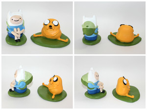 Hand made Adventure Time sculptures!!
