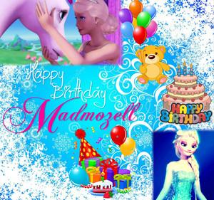 Happy Birthday Madina!