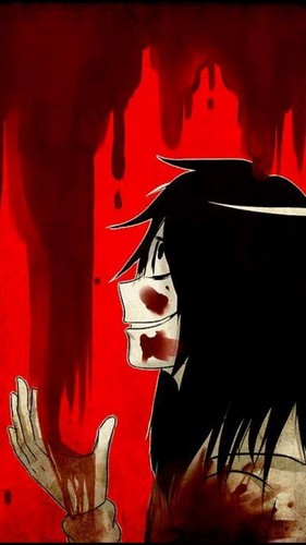 Jeff the killer Обои probably with Аниме called Happy Jeff the killer