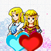 Heart Symbols - Princess Zelda