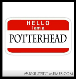 Hello I am a POTTERHEAD