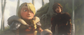 Hiccup and Astrid - concept art