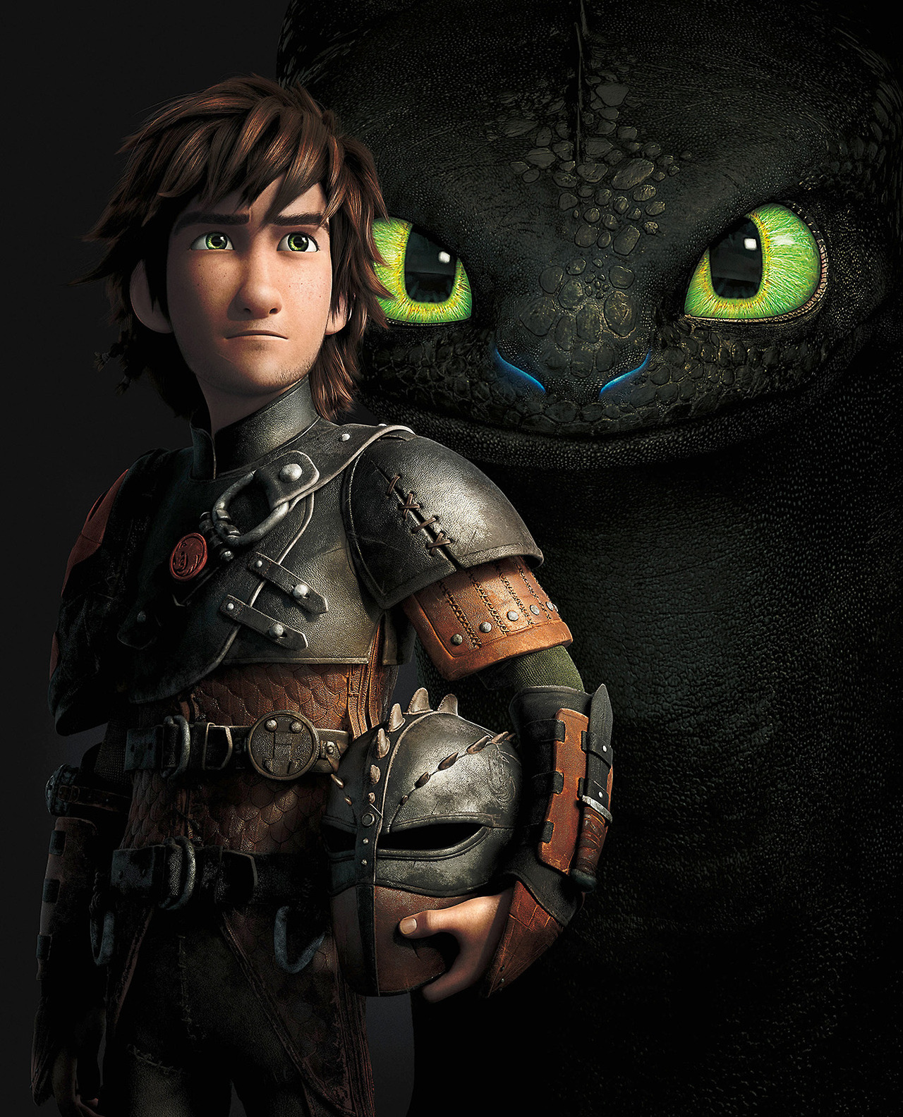 Hiccup and Toothless - full poster