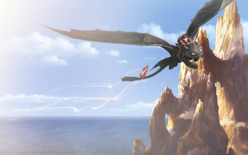How To Train Your Dragon Wallpaper Titled Hiccup And Toothless