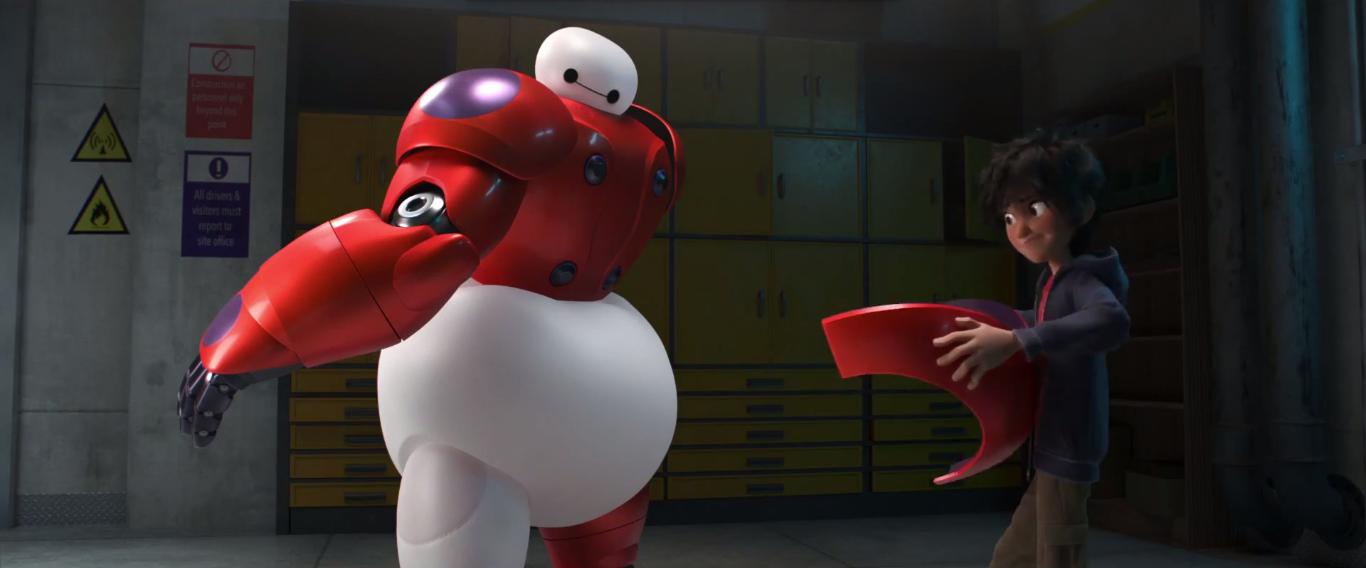 Hiro Hamada - Big Hero 6 Teaser Trailer Screencaps