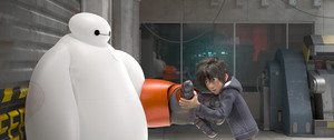 Hiro Hamada and Baymax
