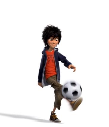 Big Hero 6 Hintergrund with a bearskin titled Hiro