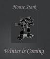 House Stark Dire Wolf - house-stark fan art