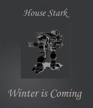 House Stark Dire волк