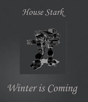 House Stark Dire serigala, wolf