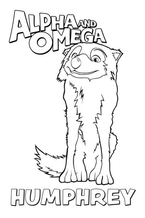 Humphrey coloring page