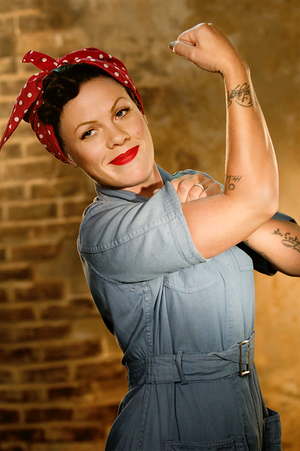 I Can't Get Enough Of আপনি P!nk <3