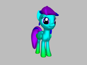 I have decided to make my first oc bluecherry a sister