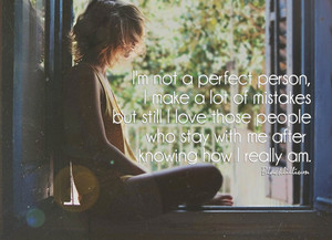 I'm Not Perfect...