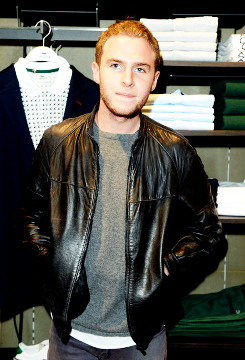 Iain at Lacoste Store Reopening