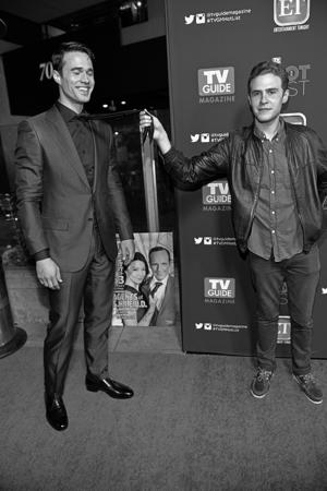 Ian de Caestecker and Brett Dalton