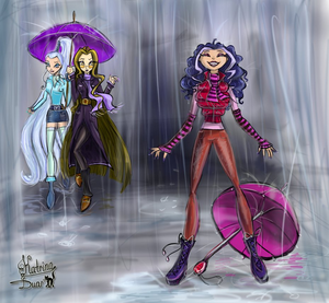 Icy, Darcy, and Stormy