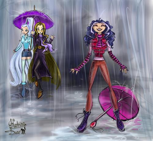 El Club Winx fondo de pantalla entitled Icy, Darcy, and Stormy