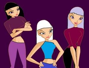 Iris,Jasmine,and Maddie