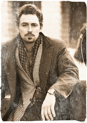 JJ Feild. Love the facial hair!!!