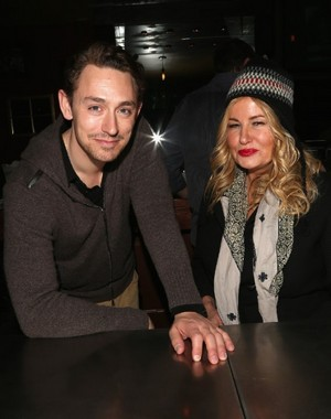 JJ Feild and Jennifer Coolidge