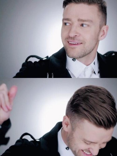Justin Timberlake wallpaper with a business suit entitled JT - Amore never felt so good video