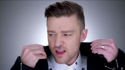 Justin Timberlake wallpaper probably containing a portrait entitled JT - Amore never felt so good video