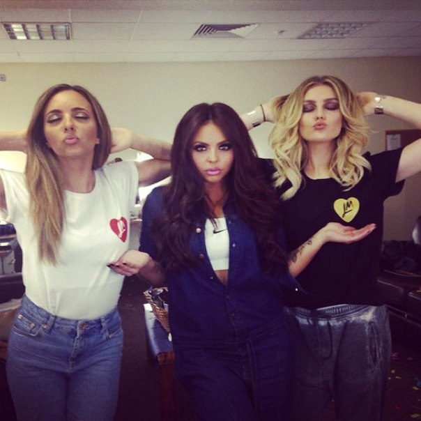 Jesy Nelson And Perrie Edwards Jade , Jesy and Perrie...