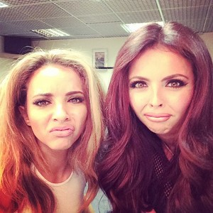 Jade and Jesy today ❤