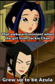 Jade grew to be Azula