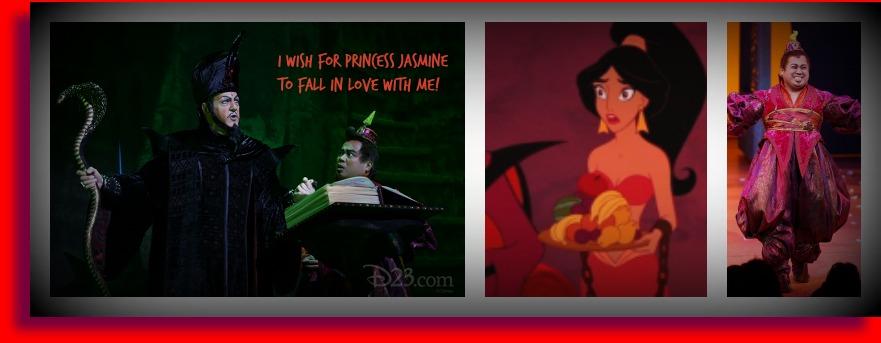 Jafar wants Jasmine collage