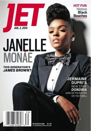 Janelle Monae On The Cover Of JET Magazine