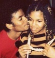 Janet and Michael - michael-jackson photo